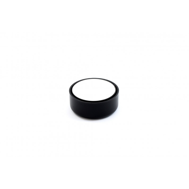Leg round H-23mm, Ø55mm, plastic, adjustable, black