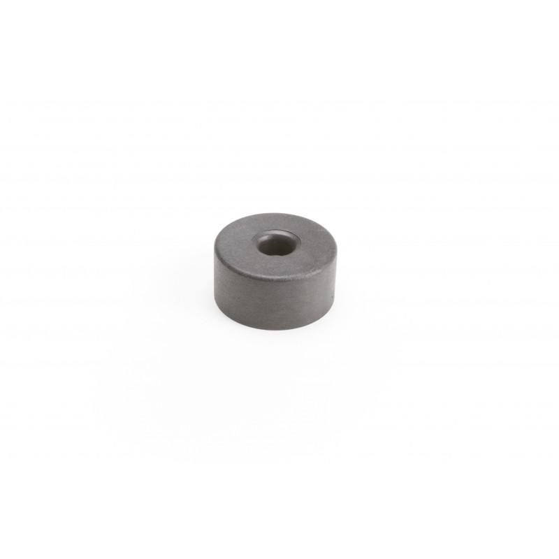 Leg round H-25mm, Ø50mm, plastic, black