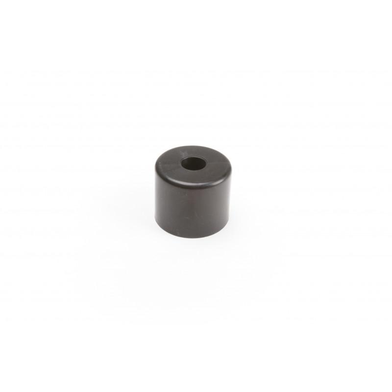Baldų atrama apvali H-40mm, Ø50mm, plastikinė, juoda