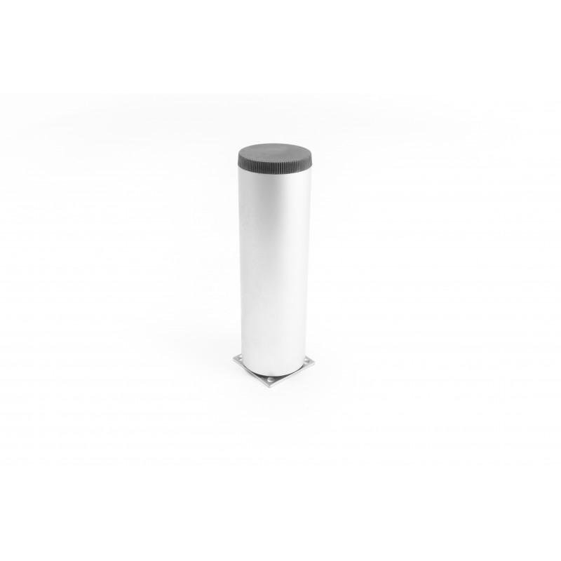 Kojelė apvali H-150mm, Ø45mm, aliuminė, reguliuojama,...