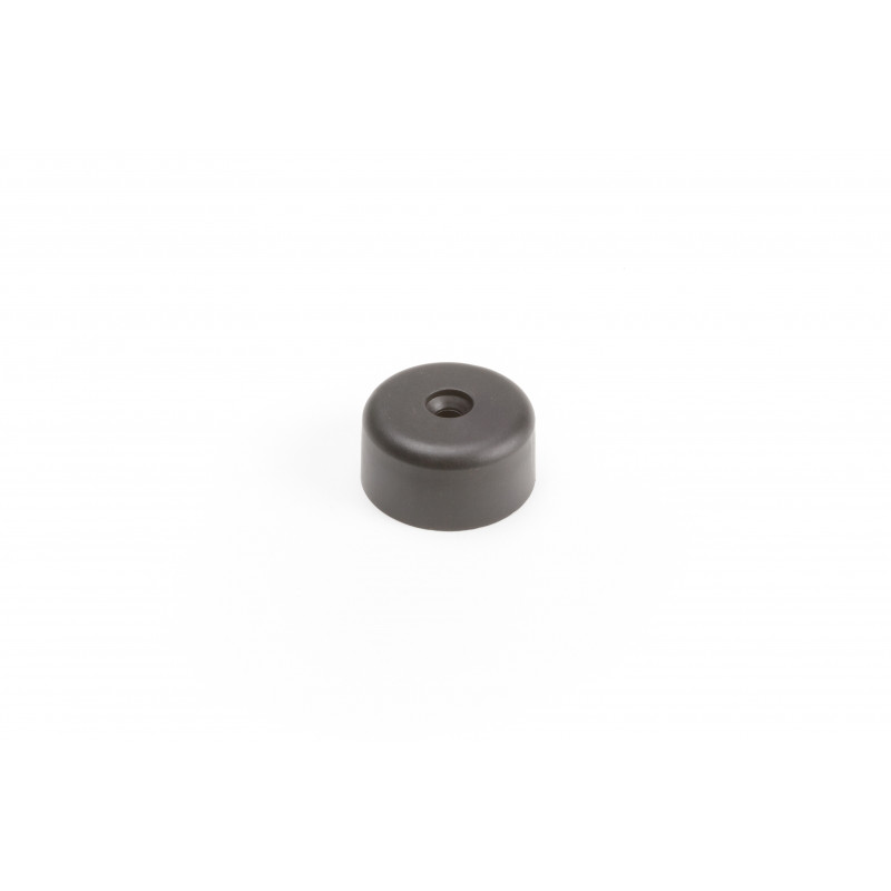 Leg round H-20mm, Ø39mm, plastic, black