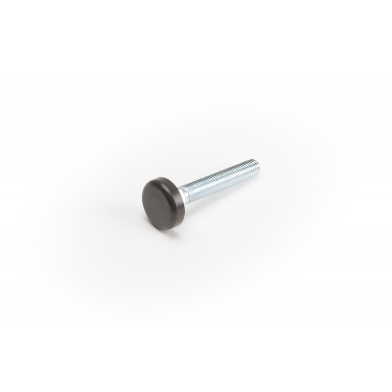 Leg round H-57mm, Ø20mm, thread M8x50, steel,...