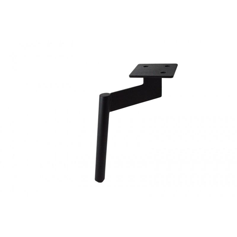 Kojelė H–200mm, plieninė, juoda, RAL9005
