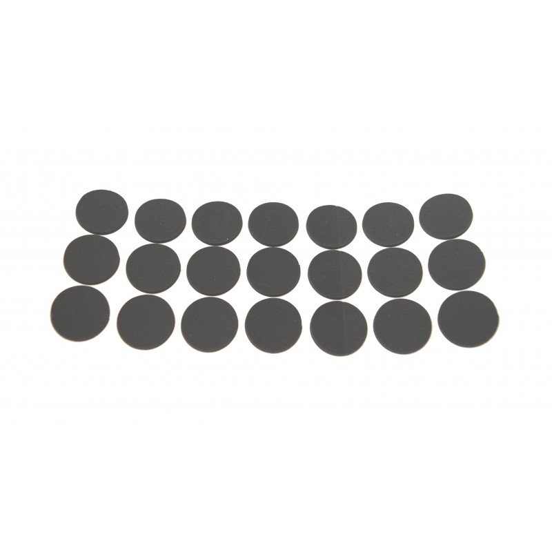 Anti-slip pad, Ø30mm, black