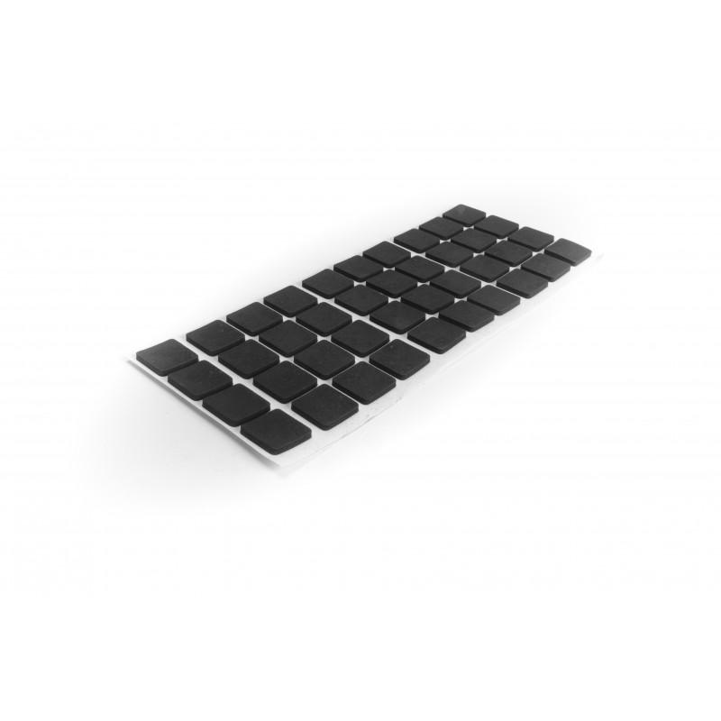Anti-slip pad, 20x20mm, black