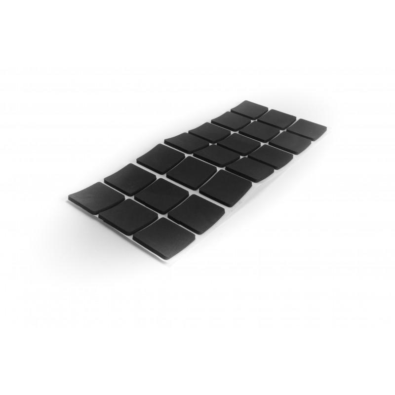 Anti-slip pad 30x30mm, black