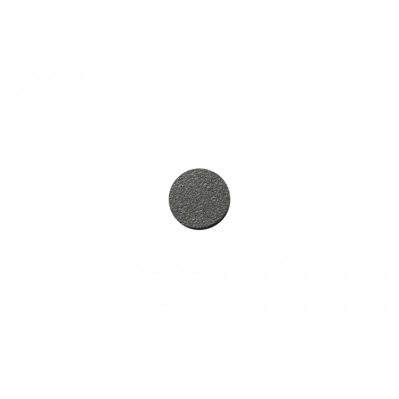 Cover cap Ø13mm, adhesive, dark grey