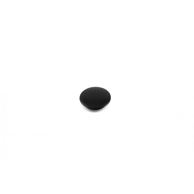 Dangtelis Ø15/18mm, plastikinis, juodas