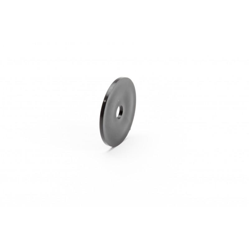 Cover cap Ø50/10mm, plastic, black