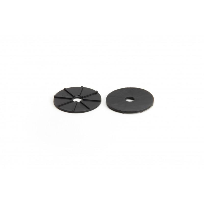 Dangtelis Ø40/8,5mm, plastikinis, juodas