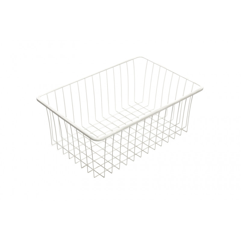 Basket for clothes, 336x503x185mm, white