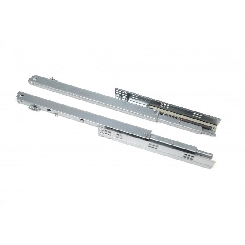 Slide undermount L=450mm, full extensionmm, grey, soft close