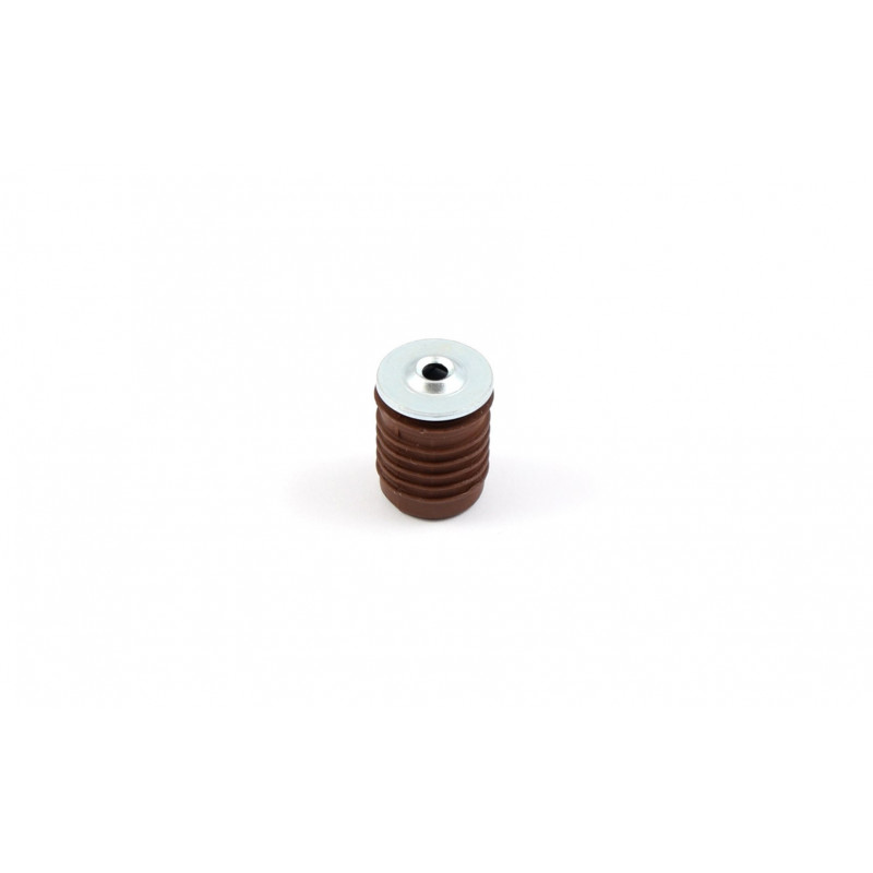 Magnet catch 3kg brown with plate