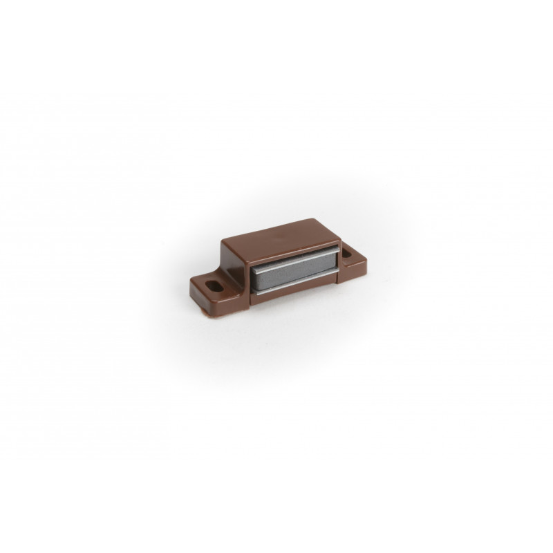 Magnet catch 4kg brown without plate
