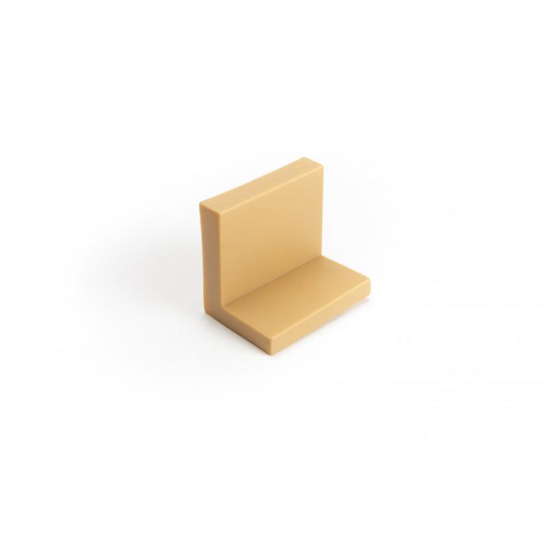 Holder for cabinet, L-shape, beech