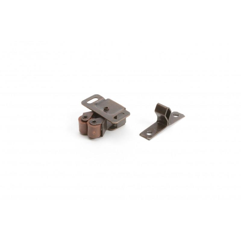 Mechanical fixator 34x32x15mm, galvanized, brown