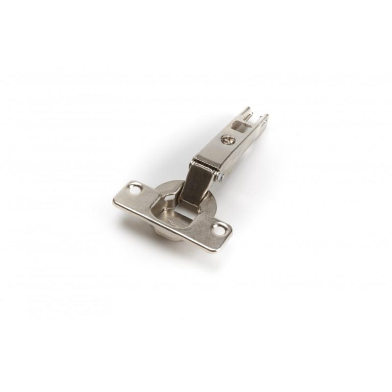Durelių lankstas Ø35mm, išorinis, nikelis, tvirtinamas...