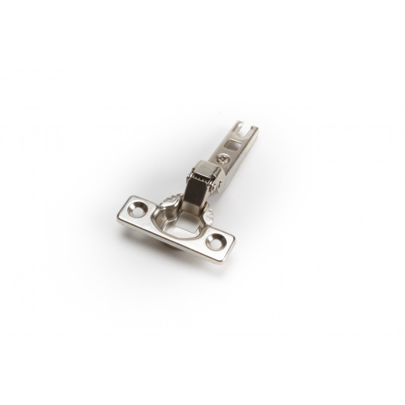 Durelių lankstas Ø35mm, pusinis, nikelis, tvirtinamas...
