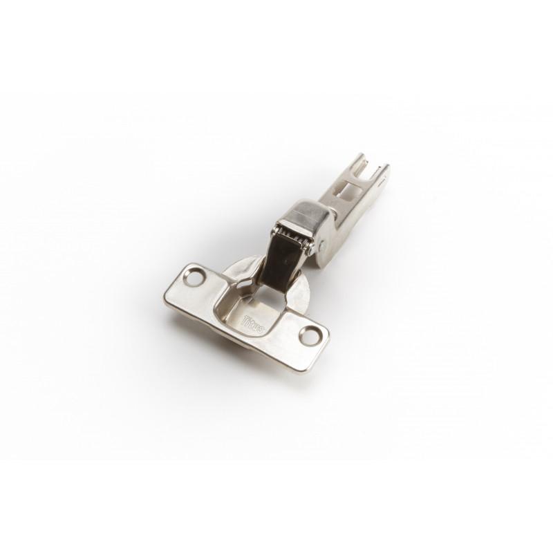 Hinge Ø35mm, insert, nickel, slide on, B-type