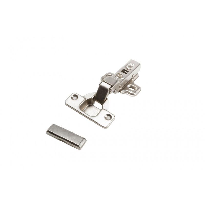 Hinge Ø35mm, half overlay, nickel, soft close, with...