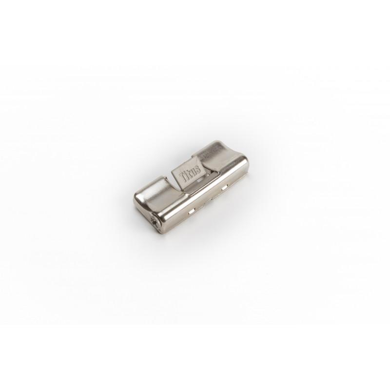 Damper for hinges, with adjustable soft close, nickel...