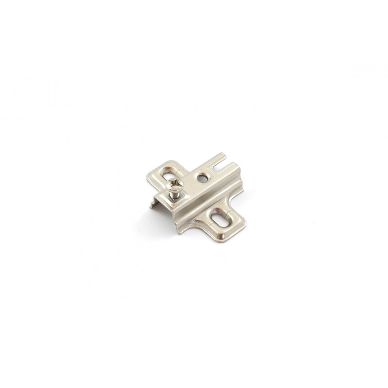 Mounting plate Ø35mm, H-0mm, nickel without screws, with...