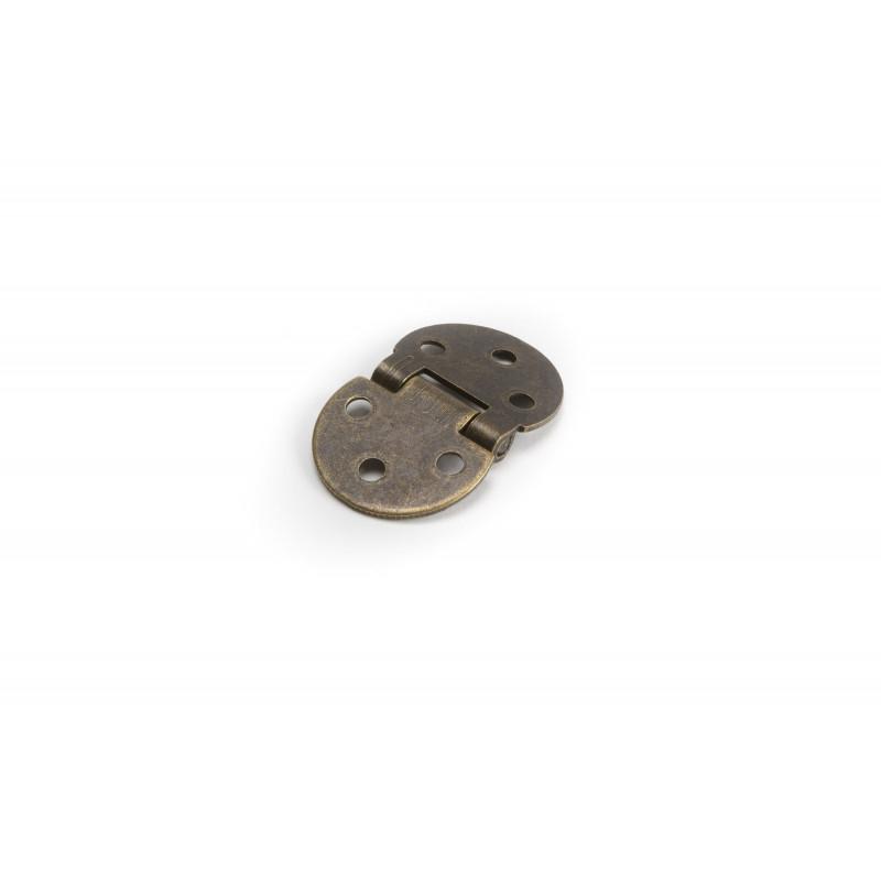 Vyrelis metalinis Ø30x1,5mm, cinkuotas, rudas