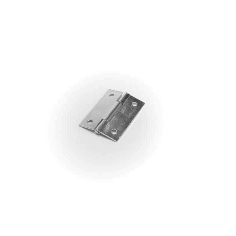 Vyrelis metalinis 50x35x1.0mm, baltai cinkuotas