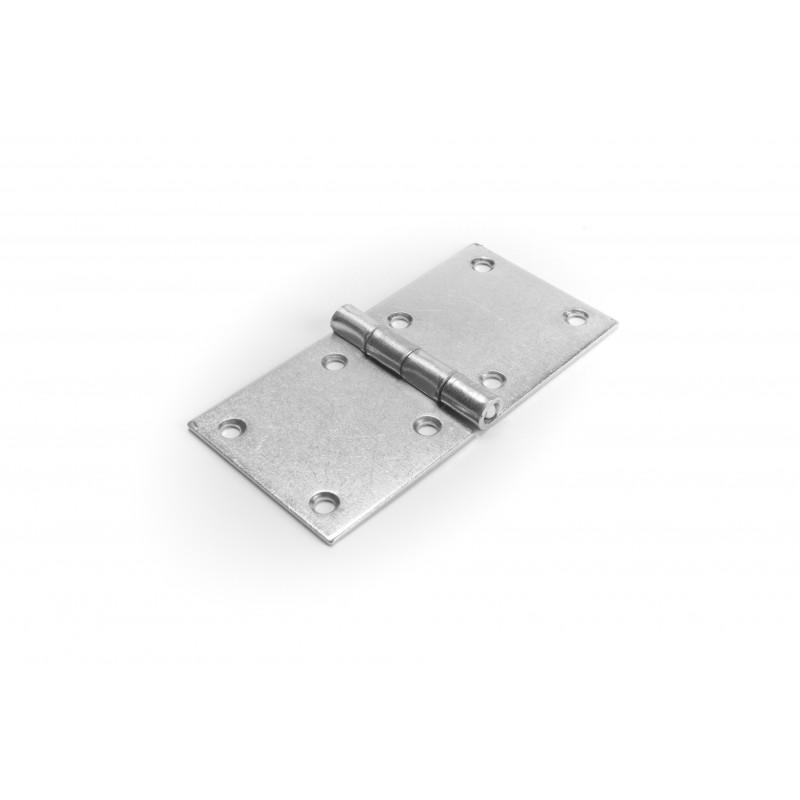 Hinge 50x100mm,white zinc plated
