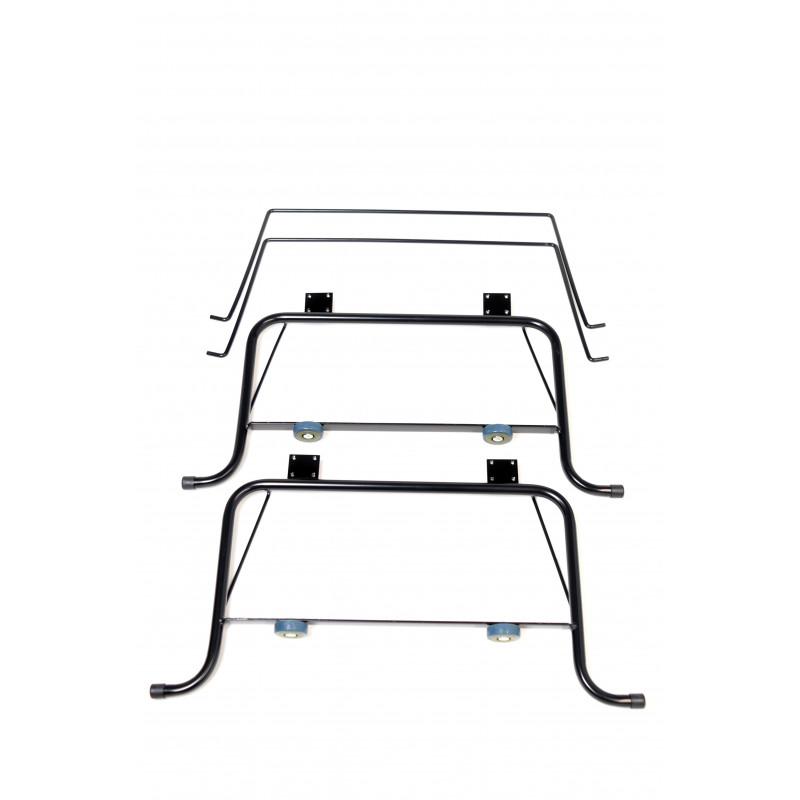 Bed hinge L-705/670 black