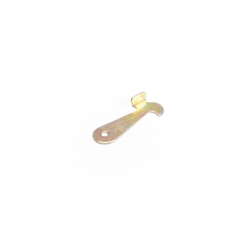 Fiksatorius mechaninis 62x25,3x1,5mm, cinkuotas, geltonas