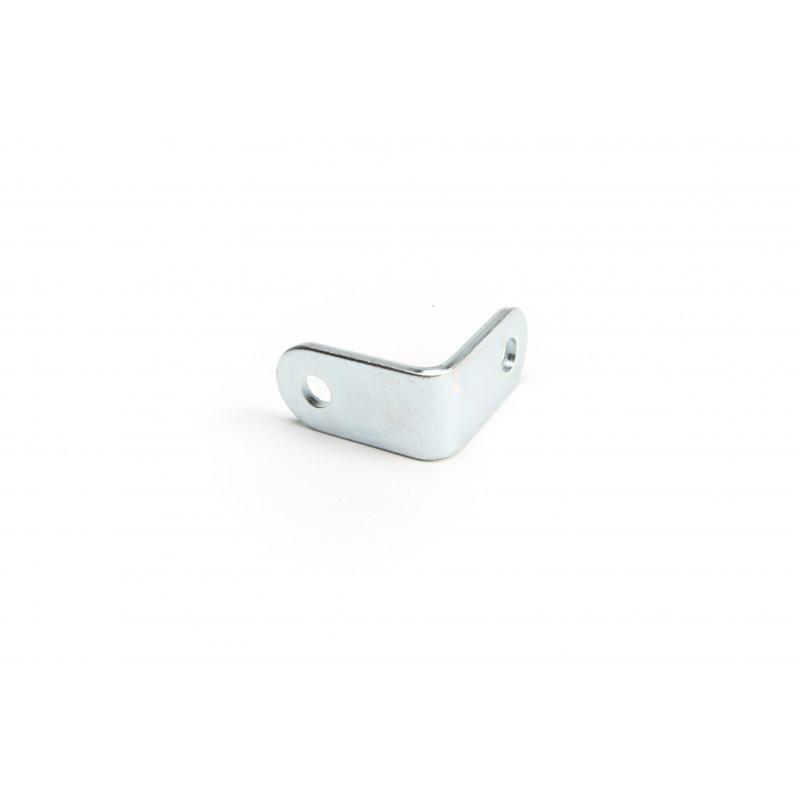 Angle 39x39x3, galvanized, white
