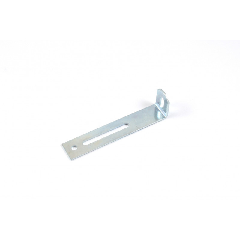 Angle 77x21x1,5 mm, galvanized, white for stability...