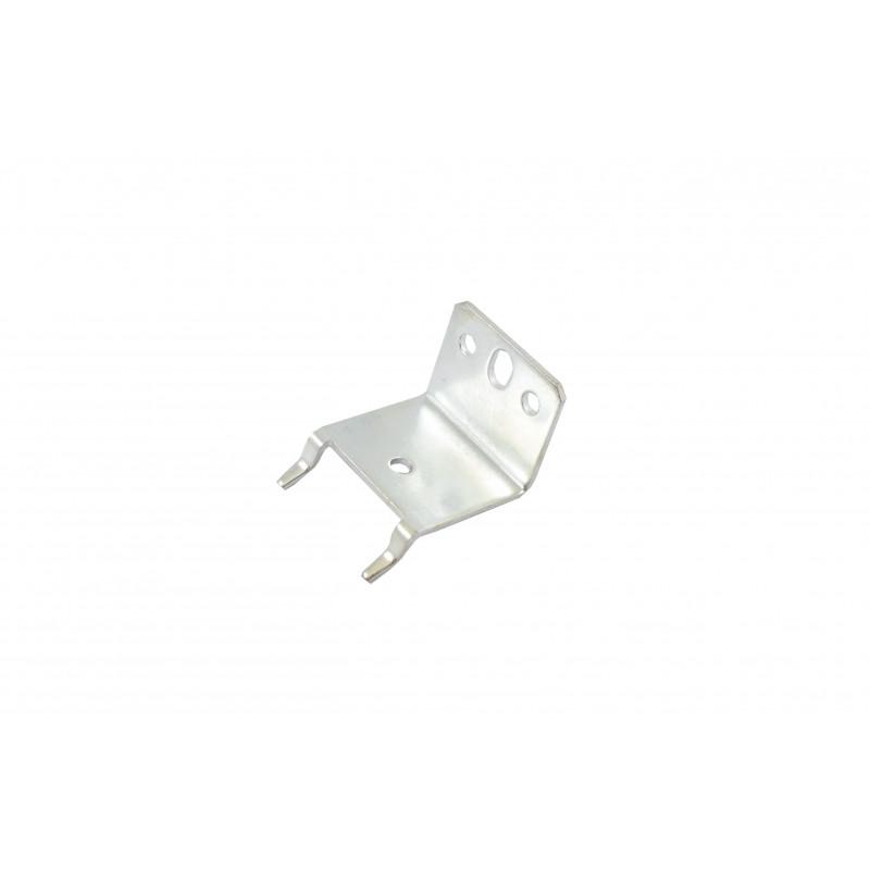 Angle 30x37x37x2 mm, galvanized, white