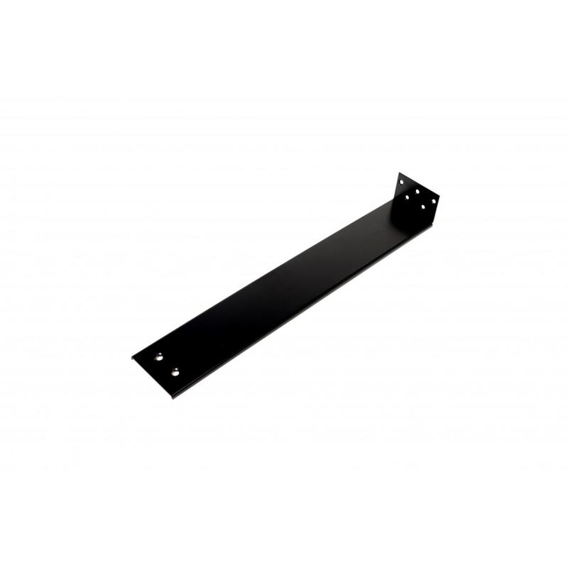 Plokštelė 500x80x50x2 mm, dažyta, juoda