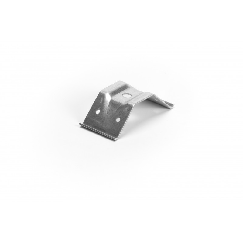 Stalo kampas 100x55x29x2 mm, cinkuotas, baltas