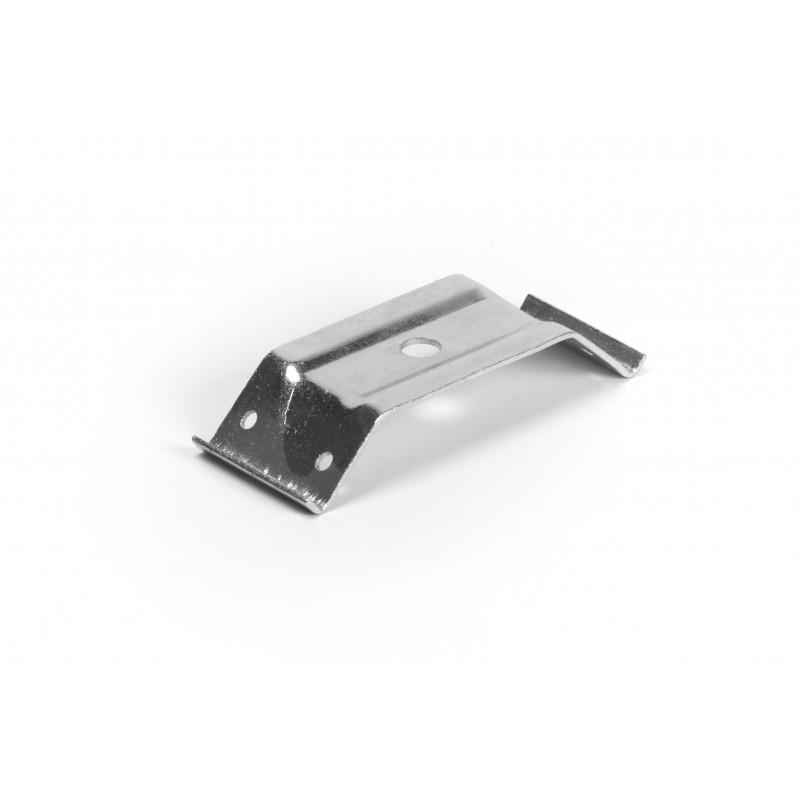 Table corner 114x50x68x2, galvanized, white