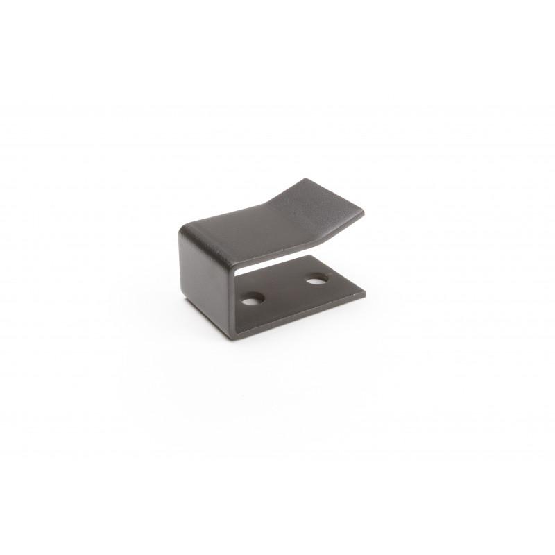 Sukabinimas lovai 40x27x65x3 mm, dažytas, juodas