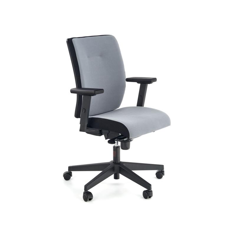 Biuro kėdė POP su ratukais, juoda/pilka