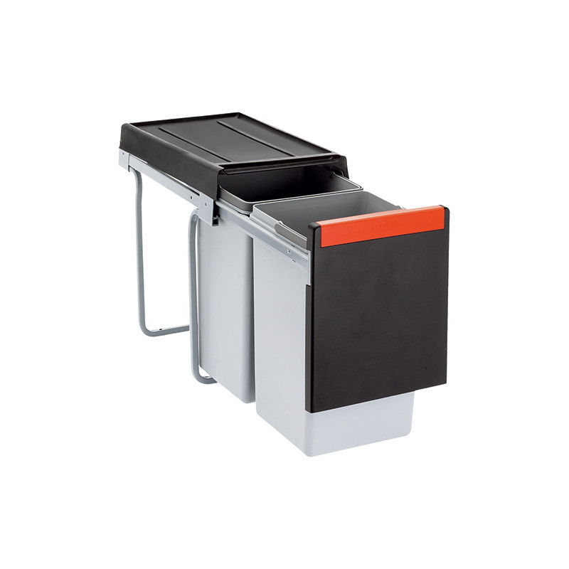 Rūšiavimo šiukšliadėžė FRANKE Cube 30 (20l+ 10l)