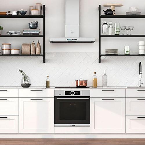 Modulinės lentynos virtuvei